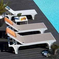 Tahiti sun bed